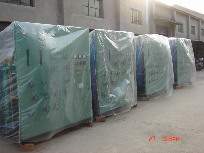 Taiwan customers order 4 sets of safety decomposition device
